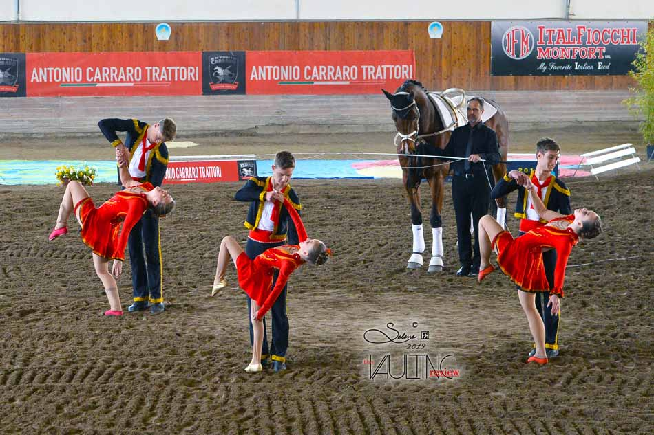 Concorso Internazionale di Volteggio Equestre Portogruaro 2019: Austria, Germania e Svizzera al top.