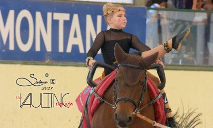 Il volteggio equestre: sport, cavallo e amicizia!
