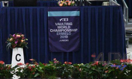 Ad Ermelo (NED) mondiale juniores e campionati europei 2019 di volteggio equestre