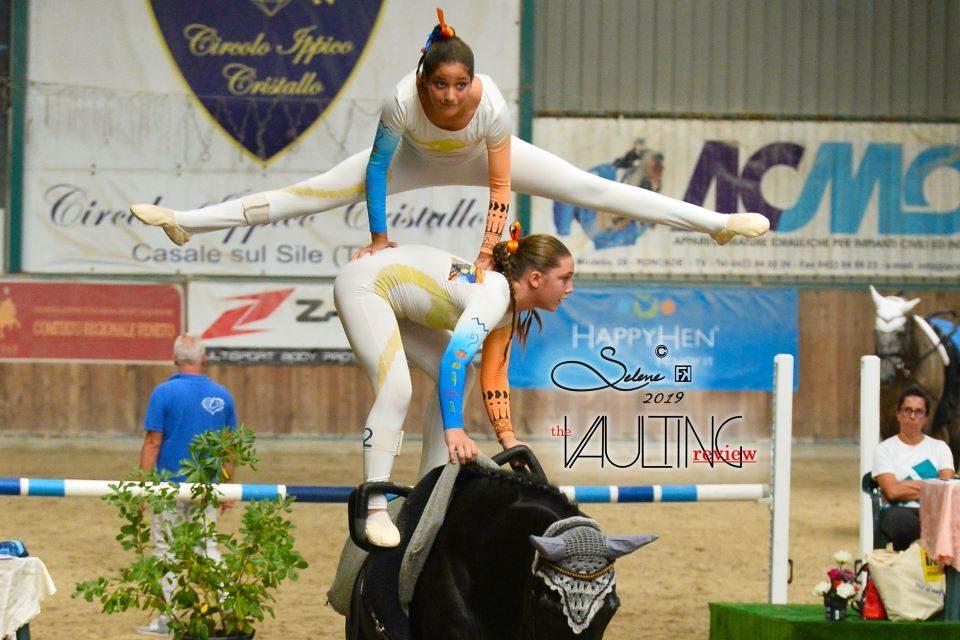 Il volteggio equestre veneto in gara a Treviso
